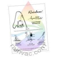 e SERIES™ Rainbow AquaMate I Owner's Manual (English)
