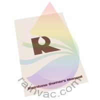 D4C Rainbow Vacuum Owner's Manual (English)