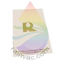 R-2800C Rainbow Power Nozzle Owner's Manual (English)