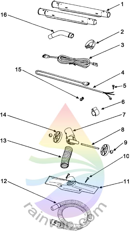 Power Nozzle R1024 Wands / Wiring Schematics
