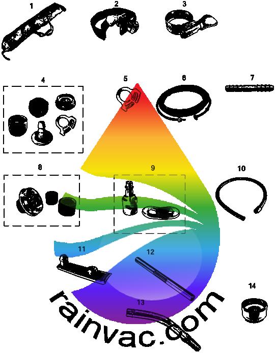 AquaMate I (SE) Optional Equipment Schematics