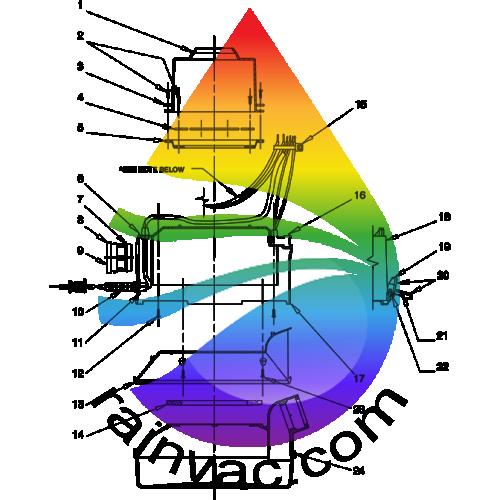 rainbow d4c vacuum schematics rh rainvac com Old Rainbow Vacuum Rainbow Vacuum Cleaning