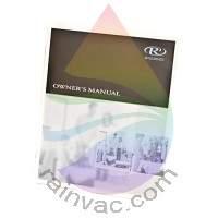 E2 Type 12 Silver Rainbow Vacuum Manual (English/Spanish)