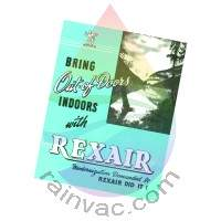 B Rainbow Vacuum Owner's Manual (English)